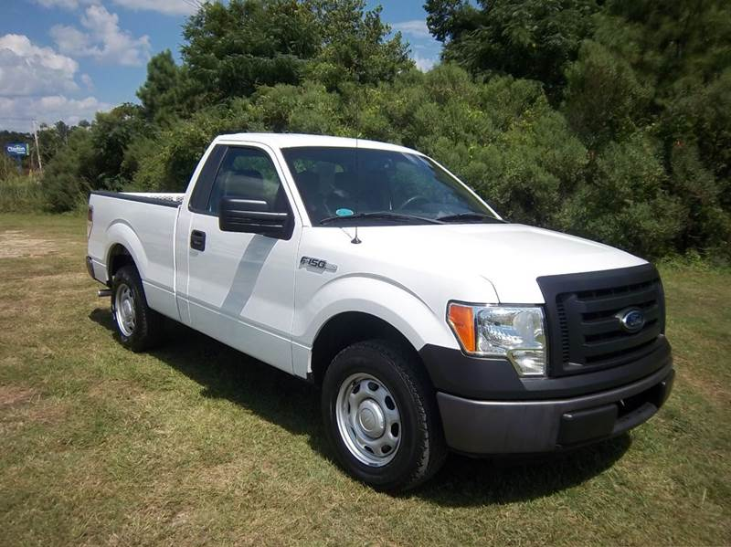 2012 FORD F-150 XL 4X2 2DR REGULAR CAB STYLESIDE white regular cab short bed with the 37 v6 is