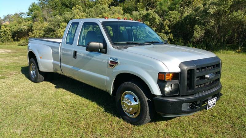 2008 FORD F-350 SUPER DUTY XL 4DR SUPERCAB LB DRW RWD silver very unusual truck instead of a cre
