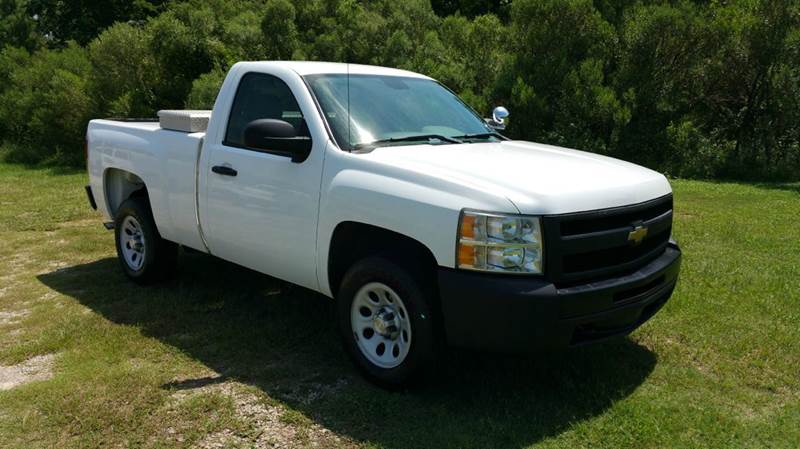 2009 CHEVROLET SILVERADO 1500 4X2 2DR REGULAR CAB 65 FT SB white do you want a really great tru