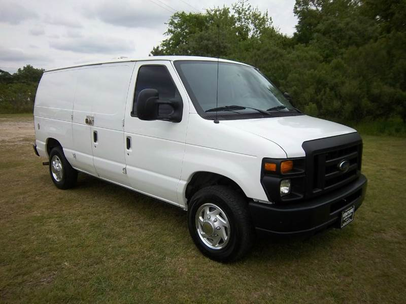 2011 FORD E-SERIES CARGO E150 3DR CARGO VAN white this van is built to make your life easier with
