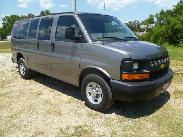 2012 CHEVROLET EXPRESS LS 2500 3DR VAN metallic grey 12 passenger seating for those great family t