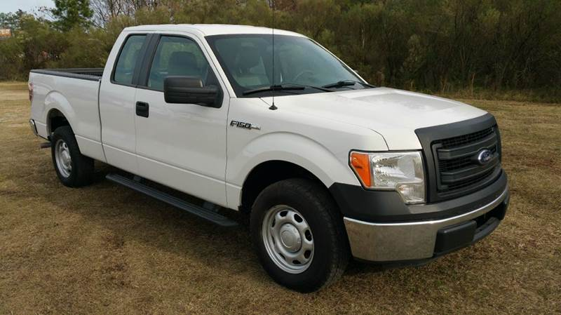 2013 FORD F-150 XL 4X2 4DR SUPERCAB STYLESIDE 6 white this is one extra sharp truck 4dr extend