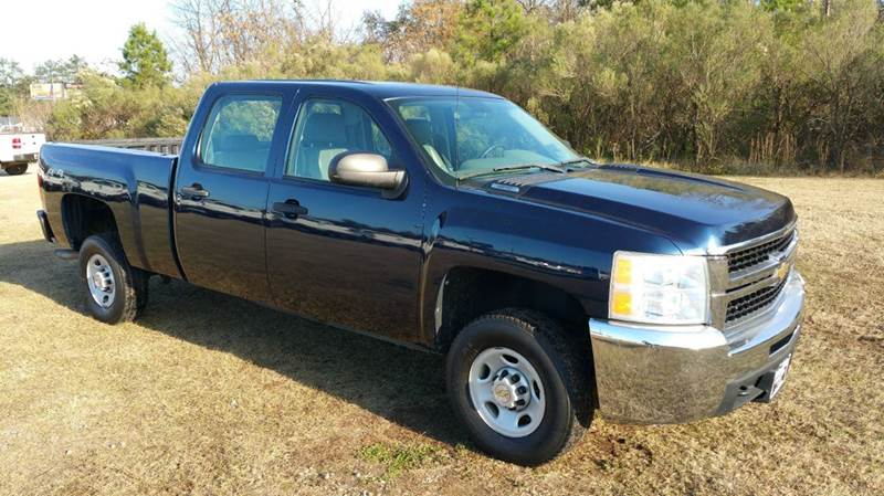 2009 CHEVROLET SILVERADO 2500HD 4X4 4DR CREW CAB SB dk blue this is a hard truck to find chevy 2