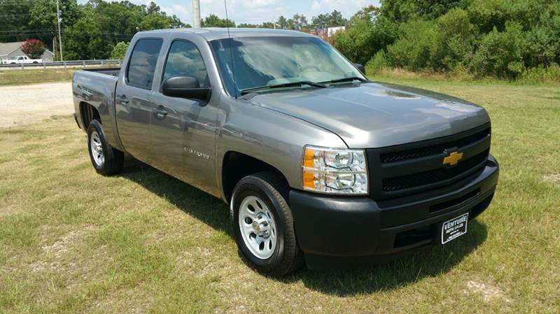 2013 CHEVROLET SILVERADO 1500 4X2 4DR CREW CAB 58 FT SB charcoal gray exceptionally clean 4dr c