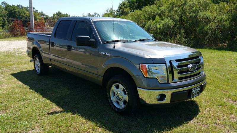 2012 FORD F-150 XLT 4X2 4DR SUPERCREW STYLESIDE grey this truck has got the look charcoal metal