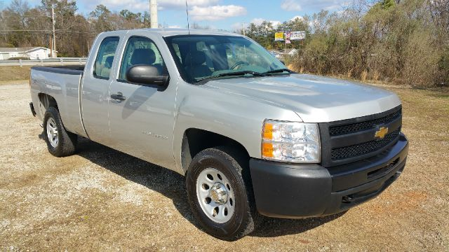 2011 CHEVROLET SILVERADO 1500 4X4 4DR EXTENDED CAB 65 FT SB silver one owner fleet truck that ha