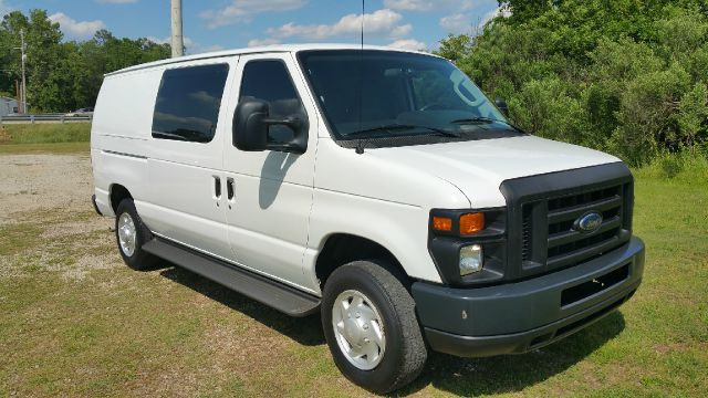 2009 FORD E150 SERIES CARGO VAN 3DR white empty cargo area gives you lots of storage space all