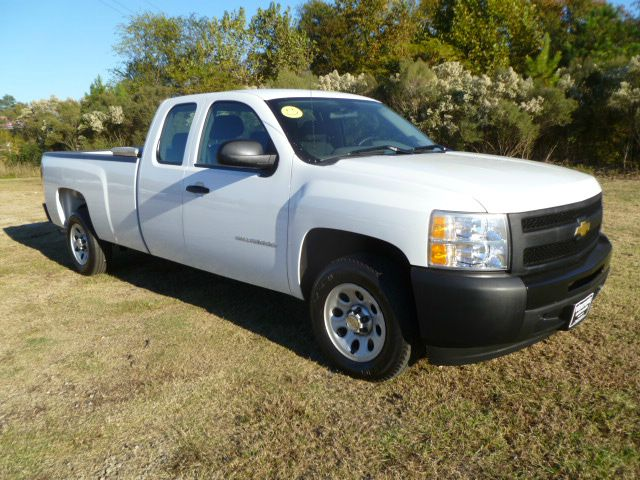 2010 CHEVROLET SILVERADO 1500 EXTENDED CAB LONG BED white extra nice extra clean long bed exten