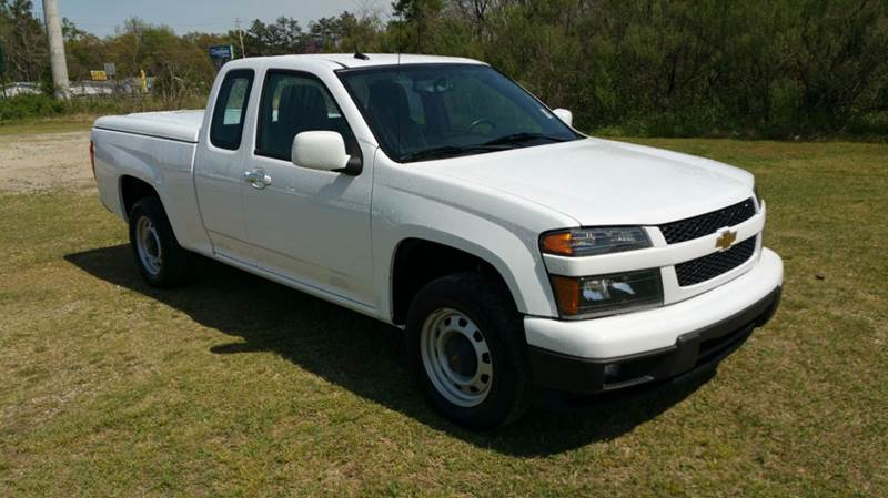 2012 CHEVROLET COLORADO 4X2 4DR EXTENDED CAB white 4dr extended cab colorado has been extremely h
