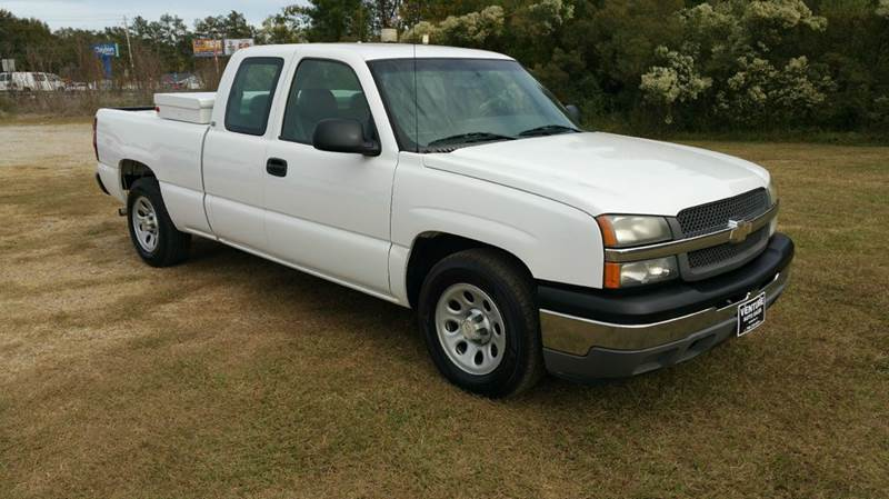 2005 CHEVROLET SILVERADO 1500 BASE 4DR EXTENDED CAB RWD SB white hard to find  exceptionally cle