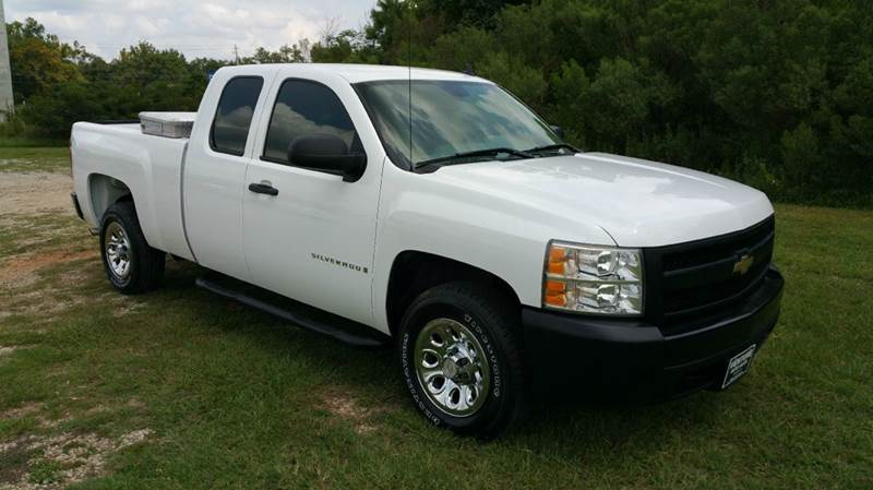 2007 CHEVROLET SILVERADO 1500 4DR EXTENDED CAB 65 FT SB white extra sweet new silverado body s