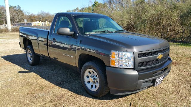 2010 CHEVROLET SILVERADO 1500 4X2 2DR REGULAR CAB 8 FT LB charcoal grey metallic really pretty ch