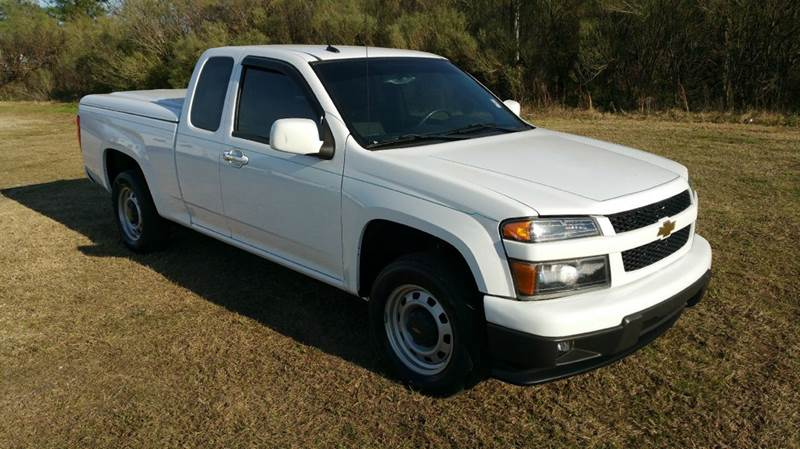 2012 CHEVROLET COLORADO LT 4X2 4DR EXTENDED CAB white 4dr extended cab with tons of storage space
