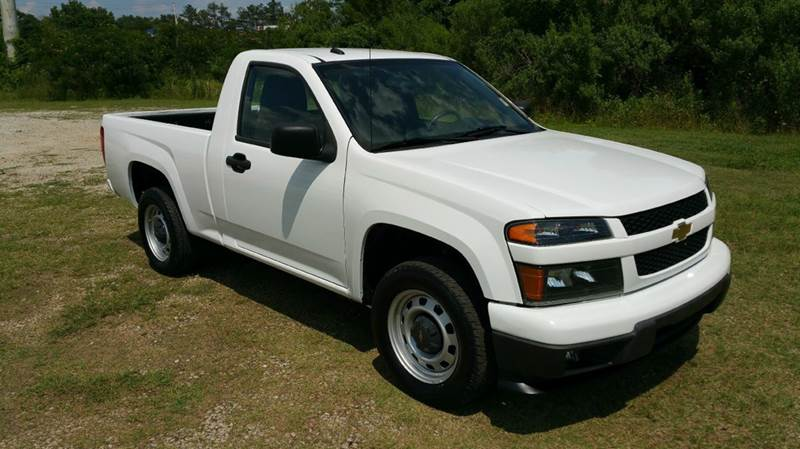 2012 CHEVROLET COLORADO 4X2 2DR REGULAR CAB white 2dr regular cab 4cyl with only 72k miles thi