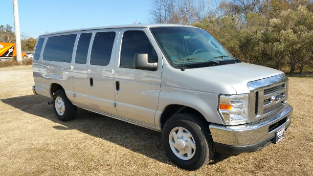 2008 FORD E-SERIES WAGON E-350 SD XLT 15 PASS 3DR EXT VAN metallic silver 15 passenger seating for