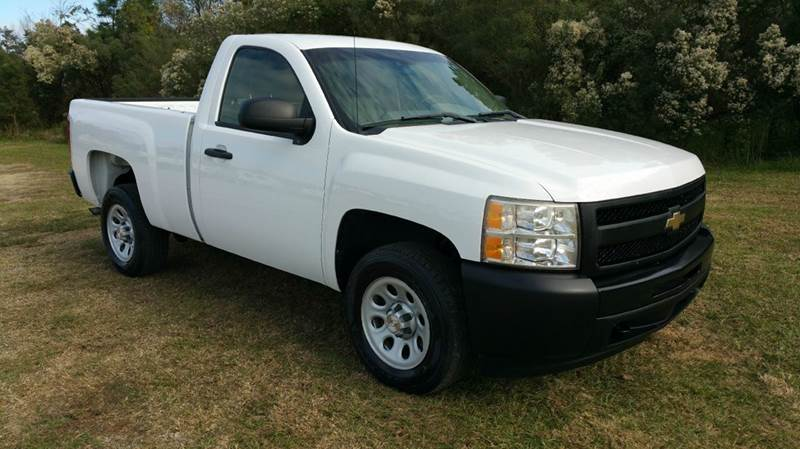 2009 CHEVROLET SILVERADO 1500 4X2 2DR REGULAR CAB 65 FT SB white really nice regular cab short