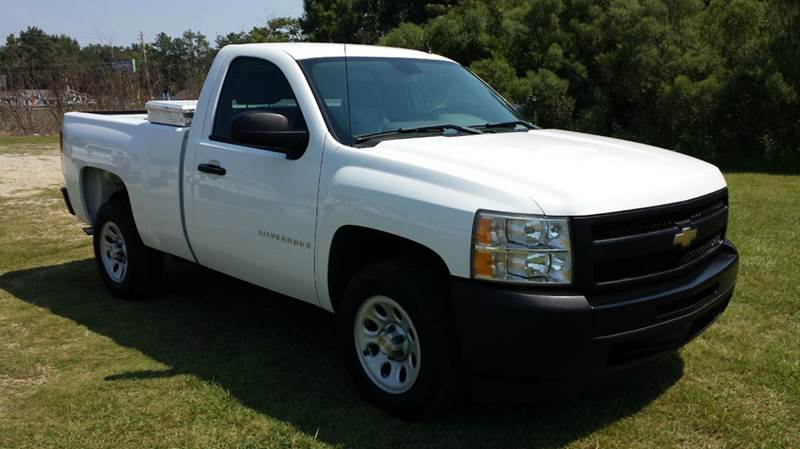 2009 CHEVROLET SILVERADO 1500 4X2 2DR REGULAR CAB 65 FT SB white 43 v6 is great on gas full
