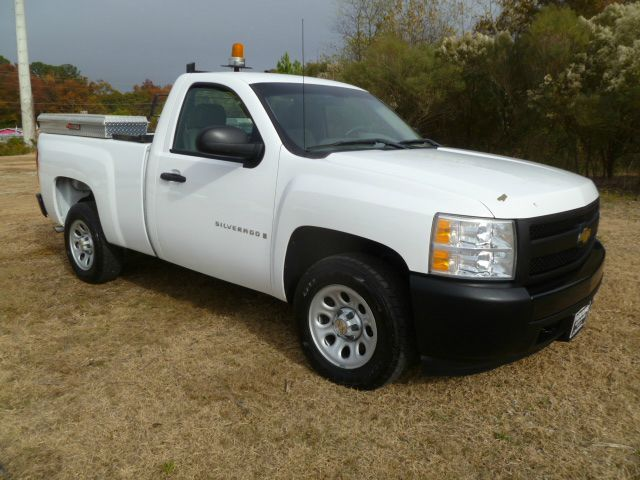 2007 CHEVROLET SILVERADO 1500 2WD REG CAB SHORT BED white extra sharp short bed regular cab 53