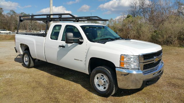 2010 CHEVROLET SILVERADO 2500HD 4X2 4DR EXTENDED CAB LB white heavy duty long bed extended cab