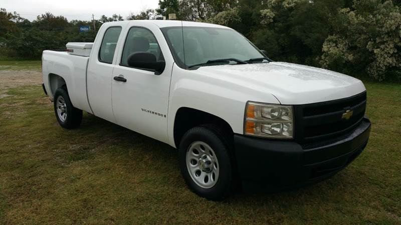 2008 CHEVROLET SILVERADO 1500 LT1 2WD 4DR EXTENDED CAB SB white 53 v8 has the power you need