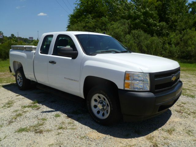 2007 CHEVROLET SILVERADO 1500 4DR EXTENDED CAB SB white 48 v8 new body style extended cab wit