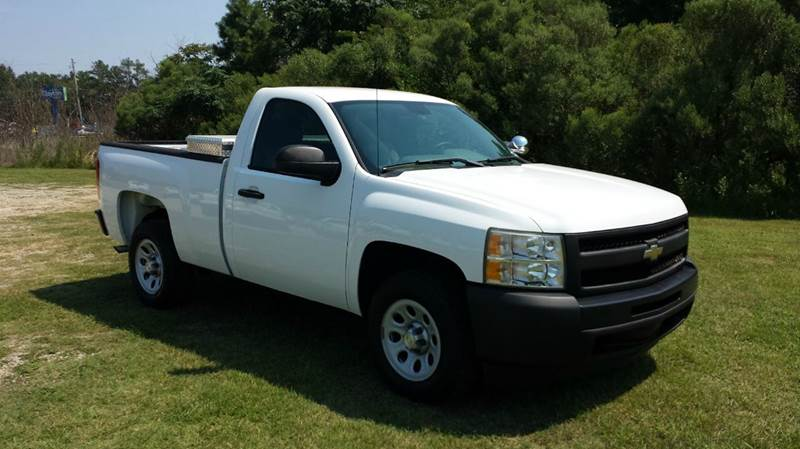 2009 CHEVROLET SILVERADO 1500 4X2 2DR REGULAR CAB 65 FT SB white looking for a great truck with