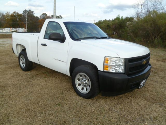 2008 CHEVROLET SILVERADO 1500 2WD REG CAB SHORT BED white this truck has the look extra sharp
