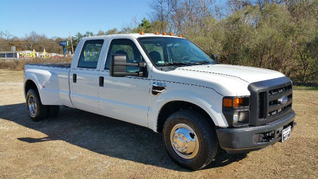 2010 FORD F-350 SUPER DUTY CREW CAB DUALLY DIESEL white 64 turbo diesel crew cab long bed with