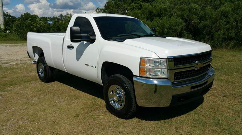 2007 CHEVROLET SILVERADO 2500HD 2DR REGULAR CAB LB white this is an extremely rare truck heavy