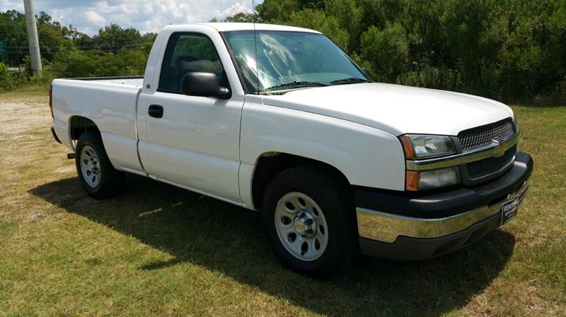 2005 CHEVROLET SILVERADO 1500 BASE 2DR REGULAR CAB RWD SB white one owner fleet truck that has be