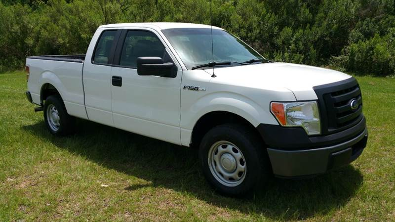 2011 FORD F-150 XL 4X2 4DR SUPERCAB STYLESIDE 6 white extra clean extra nice  extra sharp is w