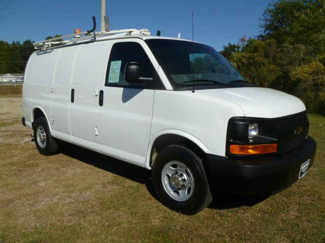 2012 CHEVROLET 2500 EXPRESS CARGO EXPRESS CARGO VAN white here is your chance to buy a fairly new
