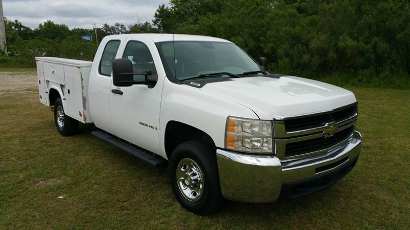 2008 CHEVROLET 2500 HD EXT SERVICE TRUCK 4DR SERVICE TRUCK HEAVY DUTY white extremely hard to fin