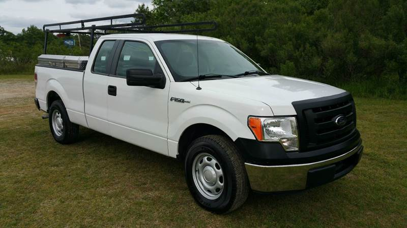 2012 FORD F-150 XL 4X2 4DR SUPERCAB STYLESIDE 6 white really sharp 4dr extended cab short bed w