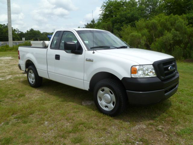 2008 FORD F-150 XL REG CAB SHORT BED white regular cab with extra doors for easy access behind fro