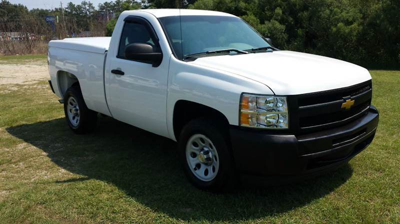 2012 CHEVROLET SILVERADO 1500 4X2 2DR REGULAR CAB 65 FT SB white great looking regular cab sho