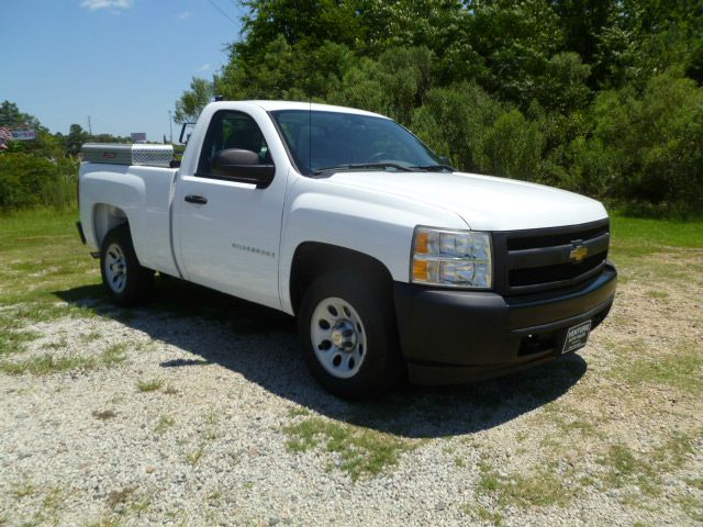 2008 CHEVROLET SILVERADO 1500 2WD 2DR REGULAR CAB 65 FT SB white 53 v8 short bed regular cab w