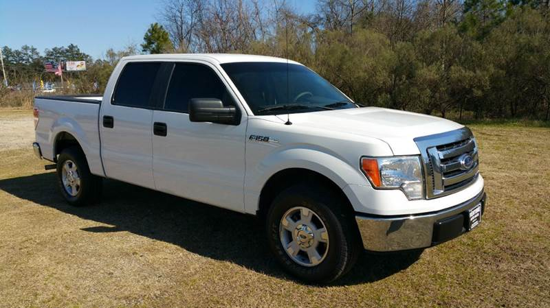 2010 FORD F-150 XLT 4X2 4DR SUPERCREW STYLESIDE white this is an exceptionally clean truck that h