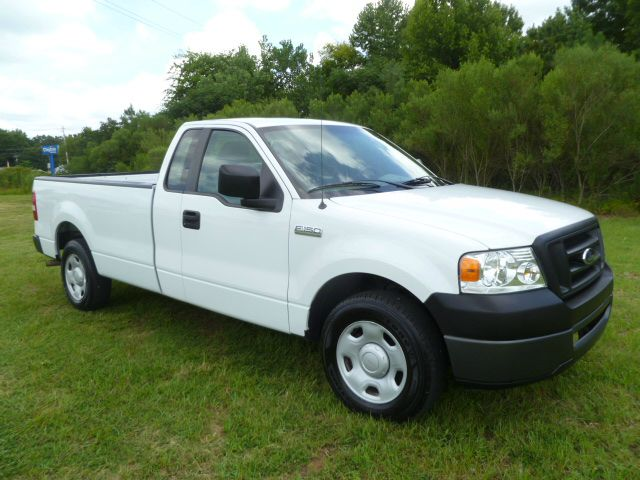 2008 FORD F-150 XL 4X2 2DR REG CAB LONG BED white long bed regular cab with the 42 v6 fleet pr