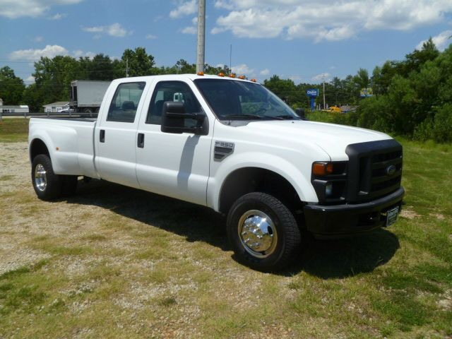 2008 FORD F-350 SUPER DUTY XL 4DR CREW CAB 4WD LB DRW white hard to find a 1 ton dully crew cab 4x