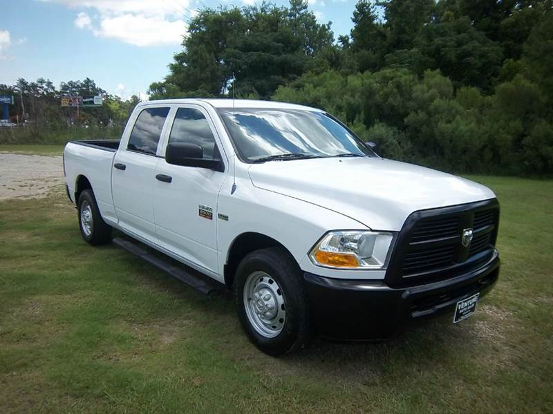 2012 RAM RAM PICKUP 2500 ST 4X2 4DR CREW CAB 63 FT SB P white exceptionally clean one owner fl