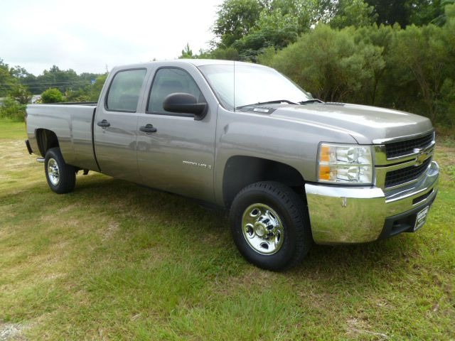 2009 CHEVROLET SILVERADO 2500 CREW CAB LONG BED 2WD grey this truck has got the look extra sharp