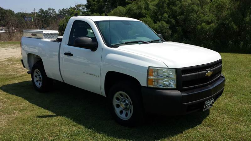 2008 CHEVROLET SILVERADO 1500 2WD 2DR REGULAR CAB 65 FT SB white this truck will make your job