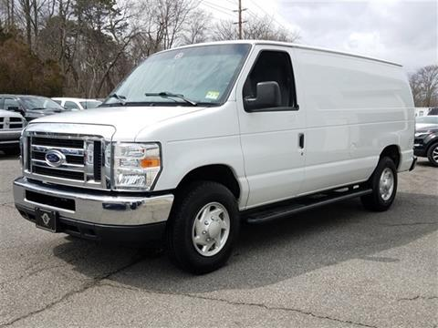 2013 ford e series cargo for sale in new jersey. Black Bedroom Furniture Sets. Home Design Ideas