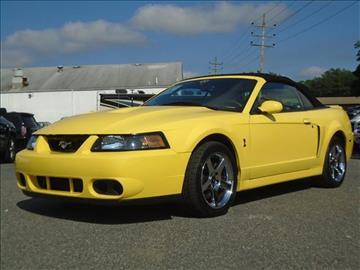 2003 Ford Mustang SVT Cobra for sale in Lakewood, NJ