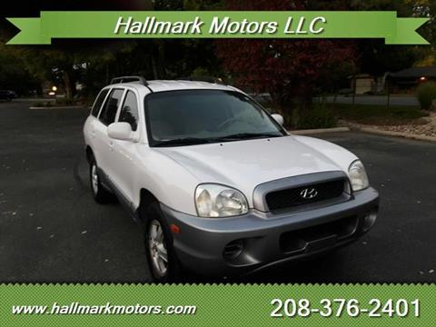 2004 Hyundai Santa Fe for sale in Boise, ID