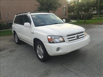 2005 Toyota Highlander for sale in Cypress, TX