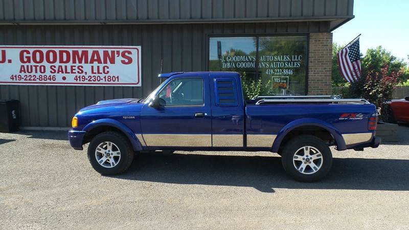 2004 ford ranger tremor 4dr supercab 4wd sb in lima oh. Black Bedroom Furniture Sets. Home Design Ideas