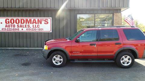 2004 Ford Explorer for sale in Lima, OH