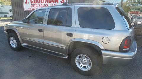 2001 Dodge Durango for sale in Lima, OH